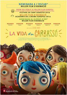"""Estrena en català del film """"La vida d'en Carbassó"""" (títol original """"Ma Vie De Courgette""""), de Claude Barras. Divendres, 24/02/2017"""