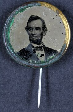 Lincoln Election Pin