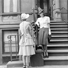 Cotton Fashions  Date taken:1939  Photographer:Alfred Eisenstaedt