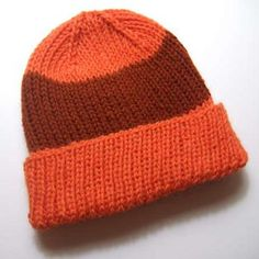 Essential Knit Hat Pattern - free pattern
