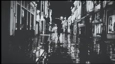 Rain can be beautiful. Loving this film noir picture made by my friend Anais Oetelmans.
