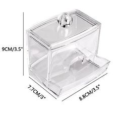 Clear Acrylic Makeup Case Cosmetic Organizer Drawer Storage Jewelry Cabinet Box