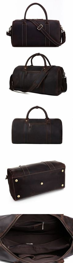 149 Best Handmade Leather Duffle Bags images  7157f67a2f618