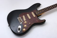 Fender Custom Shop Limited '62 Stratocaster Relic with Abbys (Black)