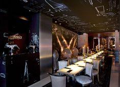 Ramses Restaurant, Madrid, designed by Phillip Starck