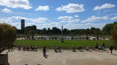 Central void at Jardin de Luxembourg