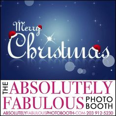 Merry Christmas from the #absolutelyfabulousphotobooth  Call (203) 912-5230 for #PhotoBooth availability for your #CorporateEvent #Birthday #Sweet16 #Wedding #BarMitzvah #BatMitzvah #Fundraiser and all occasions in #NY #NJ #CT. #eventplanner #weddingplanner #entrepreneur #business #partyplanner #eventphotography #merrychristmas