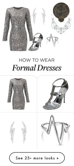 """""""Power"""" by hestiarocks on Polyvore featuring Slate & Willow, Forever 21, La Preciosa, Bling Jewelry and Jennifer Behr"""