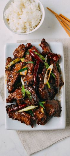 In the event you're seeking to whip up a standard Mongolian Beef recipe, look no additional than this spicy creation. Your style buds will love the flavorful mix of soy sauce, ginger, dried purple Shaved Steak Recipe, Beef Steak Recipes, Beef Welington, Sirloin Recipes, Beef Sirloin, Chicken Recipes, Mongolian Beef Recipes, Asian Beef, Most Popular Recipes