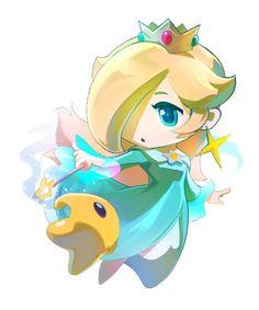 Chibi Rosalina by Jisu Choe #Mario #Nintendo #fanart