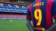 Luis Suárez #LuisSuarez #FCBenvingut #FCBarcelona #Football #SuarezFCB #9