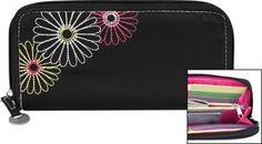 Travelon RFID Ladies Wallet Black - via eBags.com!