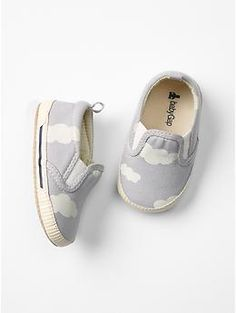 Cloud slip-on sneakers| Baby Gap
