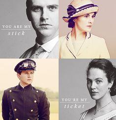 Downton Romances. The best thing since Ms. Austen.