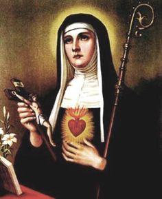 Catholic News World : Saint November 16 : St. Gertrude the Great : #Benedictine : Patron of #Nuns, #Travellers, West Indies