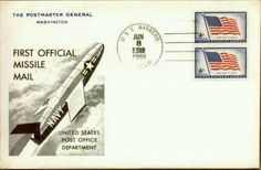 June 8, 1959 - The Navy and the Post Office deliver the first official missile mail when USS Barbero (SS-317) fires a Regulus I missile with 3,000 letters 100 miles east of Jacksonville, Fla., to Mayport, Fla.