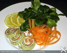 Lachs - Spinat - Rolle, ein schmackhaftes Rezept aus der Kategorie Kalt. Bewertungen: 564. Durchschnitt: Ø 4,6.