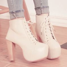 Shoes Pink High Heels Boots Laces Cute Tumblr Wheretoget | 1pages.com