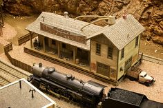 model railroad depots | Recent Photos The Commons Getty Collection Galleries World Map App ...