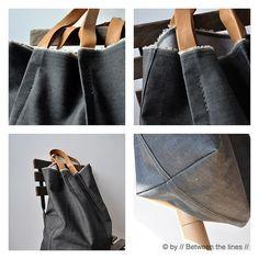 denim bag by // Between the Lines //, via Flickr