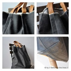 This looks like a homemade bag I would actually want to use!