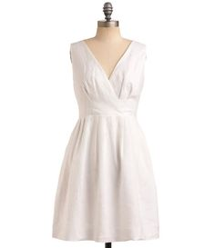 TW_5047 Short White Formal Dress