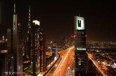 Sheik Zayed Road, Dubai, United Arab Emirates
