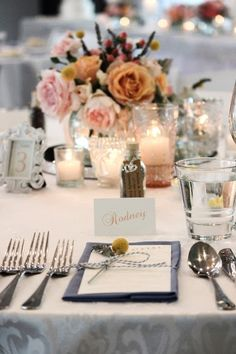 Candle Table Centerpiece Ideas