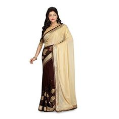 This Shimmer Fabric Saree is part of an exclusive collection from Ambif! A fresh and vibrant design. It the most comfortable saree you will wear this season. It has a Smooth texture and a sheer look and comes with a contrast meter unstitched blouse. Saree Wearing, How To Look Rich, Indian Salwar Kameez, Indian Bridal Wear, Art Silk Sarees, Chiffon Saree, Different Dresses, Printed Sarees, Exclusive Collection