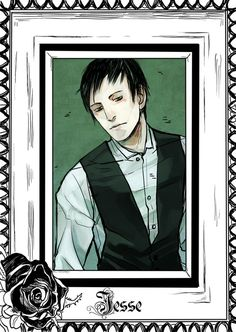 Jesse Blackthorn - released on Cassandra Clare's Tumblr - drawn by Cassandra Jean