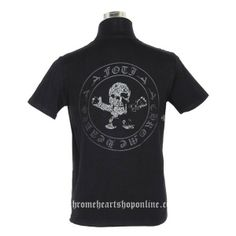 bfd45e506b7f Black Chrome Hearts Harris Teeter Short Sleeves T-Shirt  Chrome Hearts  Short T-shirt  -  138.00   Chrome Hearts Sale