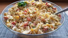 Pasta Salad, Salads, Ethnic Recipes, Food, Chef Recipes, Cooking, Crab Pasta Salad, Essen, Meals