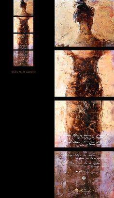 Tatyana, Oil by Andre Kohn  Period II  SOLD