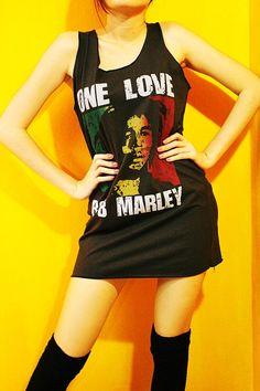 Bob Marley Reggae Rock Rasta Art Charcoal by SoYouThinkYouCanRock, $15.99