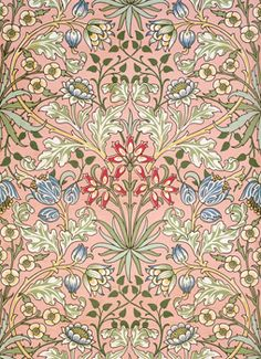 Looking to William Morris prints for inspiration today as a result of our gorgeous collaboration with the V&A. It's floral heaven!