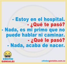 Chistes Geniales – Chistes geniales para reír hasta mas no poder. Mexican Funny Memes, Mexican Humor, Spanish Jokes, Funny Spanish Memes, Spanish Teaching Resources, Learning Spanish, Wise Quotes, Quotes Amor, Teenager Posts Crushes