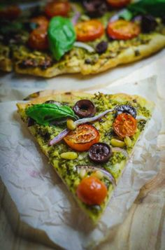 Best Vegan Pesto Pizza
