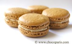 recipe for Pierre Hermé coffee macarons