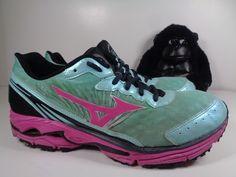 537b113ef588d4 Womens Mizuno Wave Rider 16 Running Cross Training shoes size 9.5 US   Mizuno  RunningCrossTraining