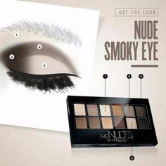 Как делать Smoky Eyes не хуже визажиста. | Макияж лица