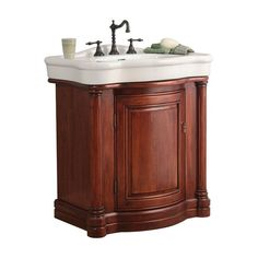 """View the Foremost W3021 Wingate Bathroom Vanity 31-7/8"""" With China Top at FaucetDirect.com."""