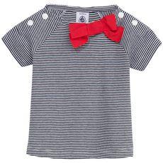 Petit Bateau - Striped cotton jersey T-shirt - 114046