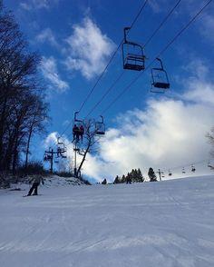 Perfect day for snowboarding during winter break 🏂 🤗#skislope#snowboarding #snow #aftonalps #スノボ #スキー場 #雪#冬休み #winterbreak