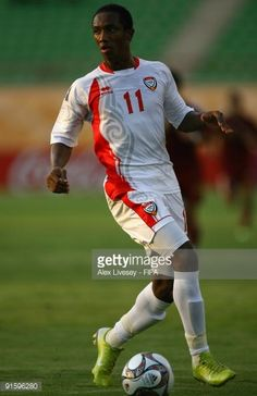 Ahmed Khalil of United Arab Emirates during the FIFA U20 World Cup Round of Sixteen match between Venezuela and United Arab Emirates at the Mubarak...
