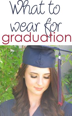 10 Cute ideas of what to wear to graduation! Either high ...