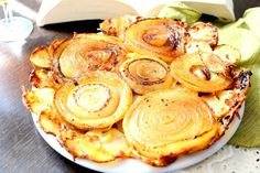 Upside Down Onion and Potato Tart is a very simple and easy to do recipe and it…