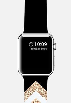 Gatsby Twins Black & White by Monika Strigel Apple Watch Band Cute Apple Watch Bands, Apple Band, Black Apple Watch Band, Apple Watch Accessories, Iphone Accessories, Apple Tv, Ipad, Watch Case, Apple Products