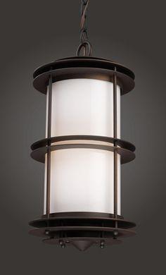 ELK Lighting 42153-1 One Light Outdoor Pendant In Clay Bronze