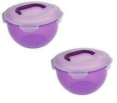 Lock & Lock 2-piece Handy Bowl Storage Set