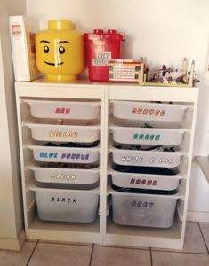 40+ Awesome Lego Storage Ideas » The Organised Housewife